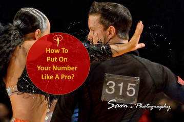 (VIDEO) How To Put Your Number Like A Pro At A Dance Competition?