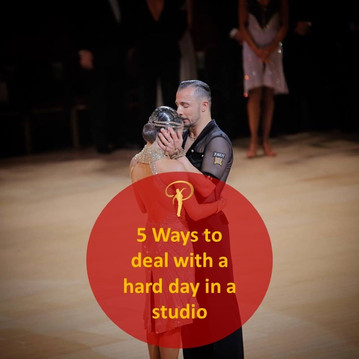 5 Ways to deal with a hard day in a studio