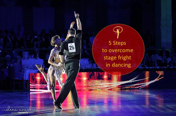 5 Steps to overcome stage fright in dancing