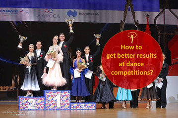 What results should I expect at dance competitions?