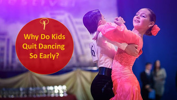 Why Do Kids Quit Dancing So Early?