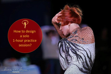 How to design a 1-hour solo practice session?