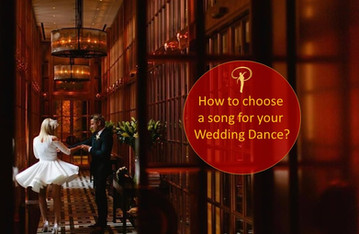 How to choose a perfect song for your Wedding Dance?