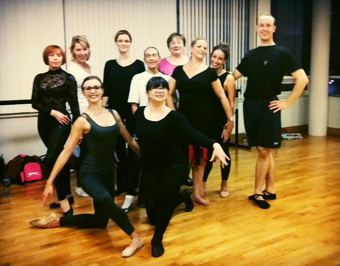 Ballet for Ballroom and Latin Dance
