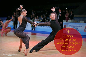 3 Things to remember when you disagree with your dance partner