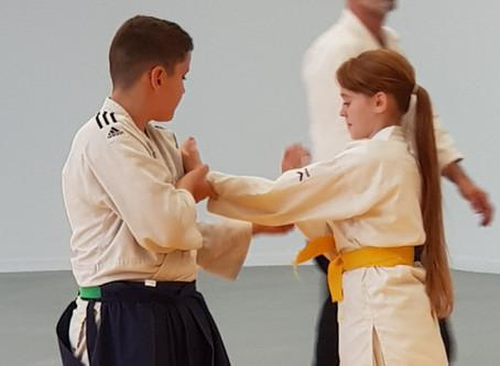 3ème rencontre départementale d'aïkido enfants du 82,