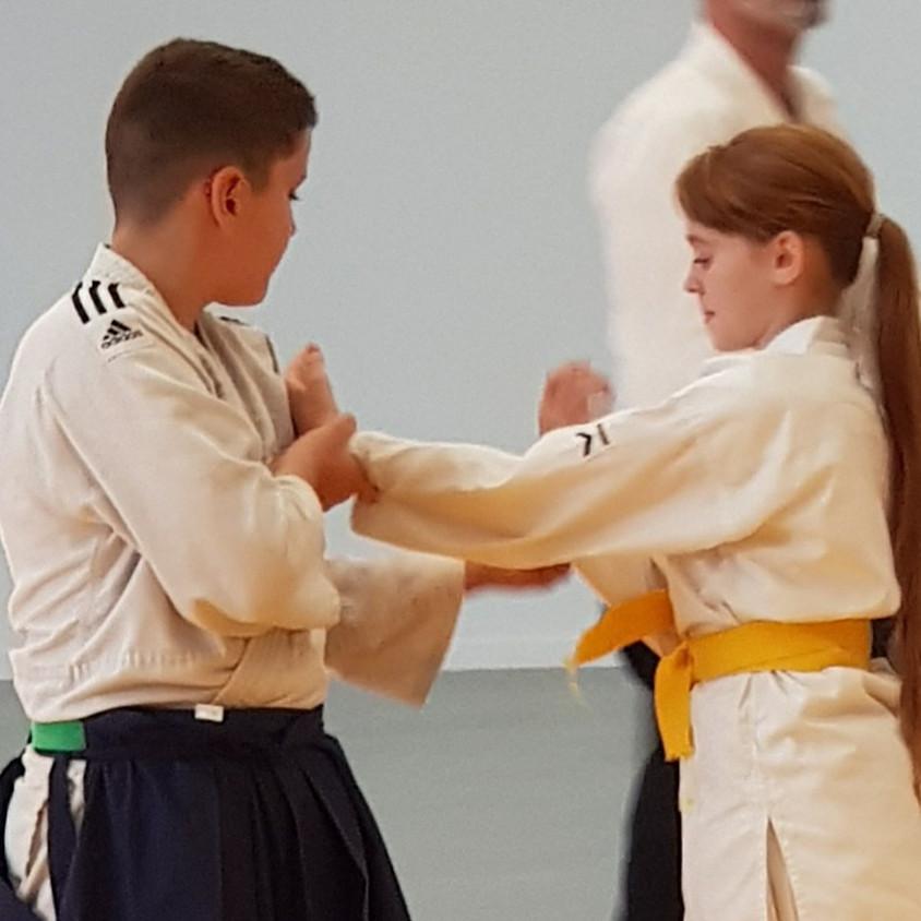 3ème rencontre départementale aikido enfants 2019-2020