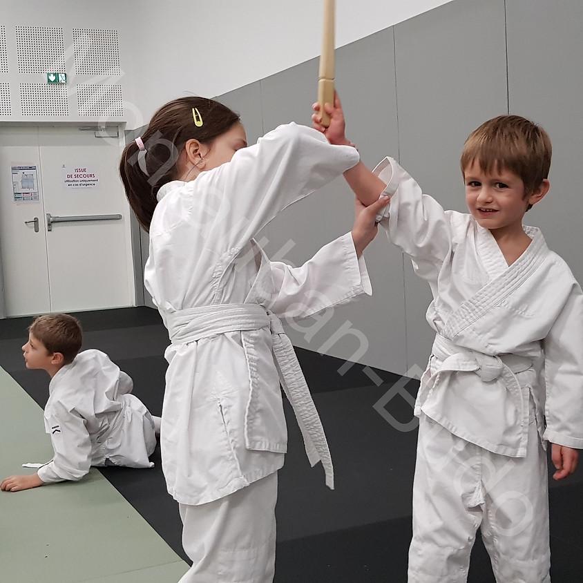 1ere rencontre départementale aikido enfants 2019