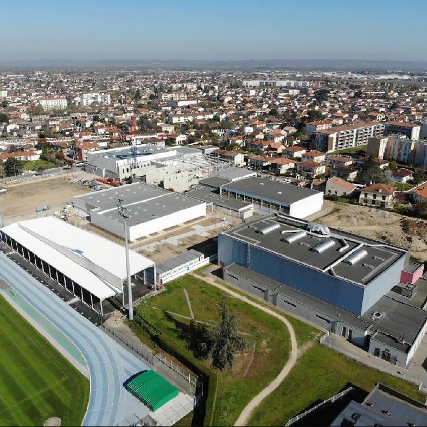 """Inauguration PALAIS DES SPORTS """"Jacques CHIRAC"""""""