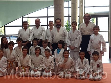 1ere Rencontre aïkido enfants du 82