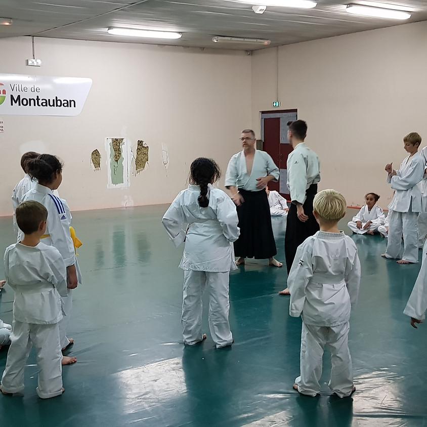 1ere rencontre départementale aikido enfants