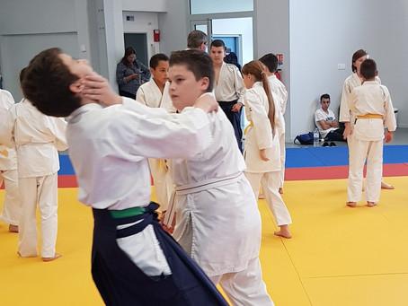 2ème rencontre départementale d'aïkido enfants du 82,