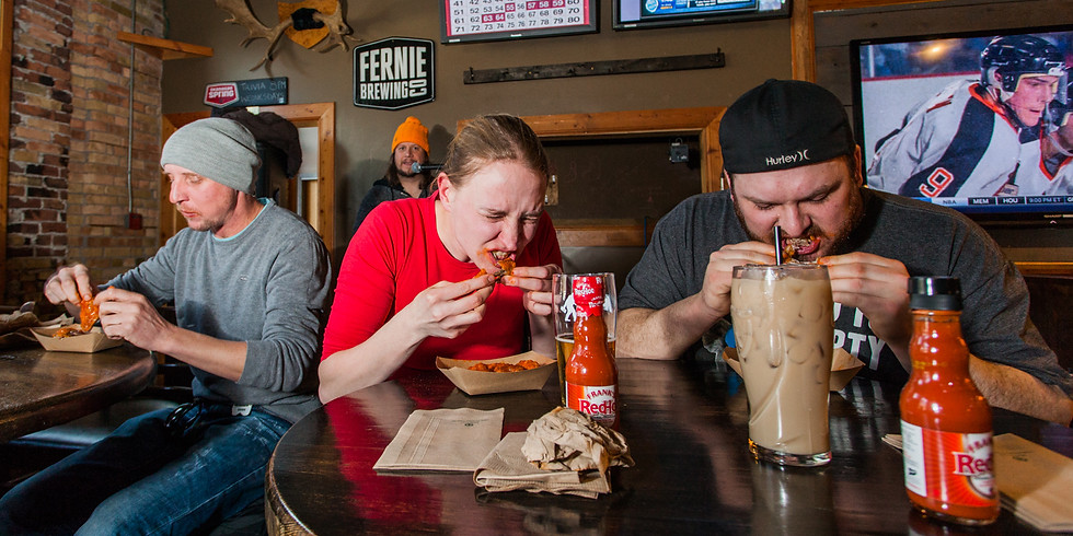 4:00pm - Hot Wing Eating Contest