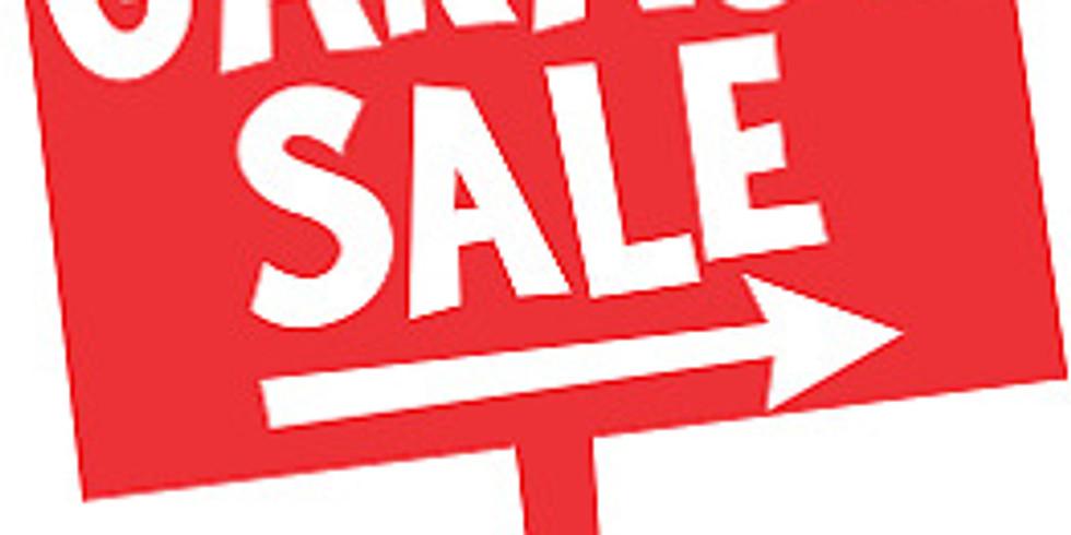 10:00am - Griz Days Garage Sale