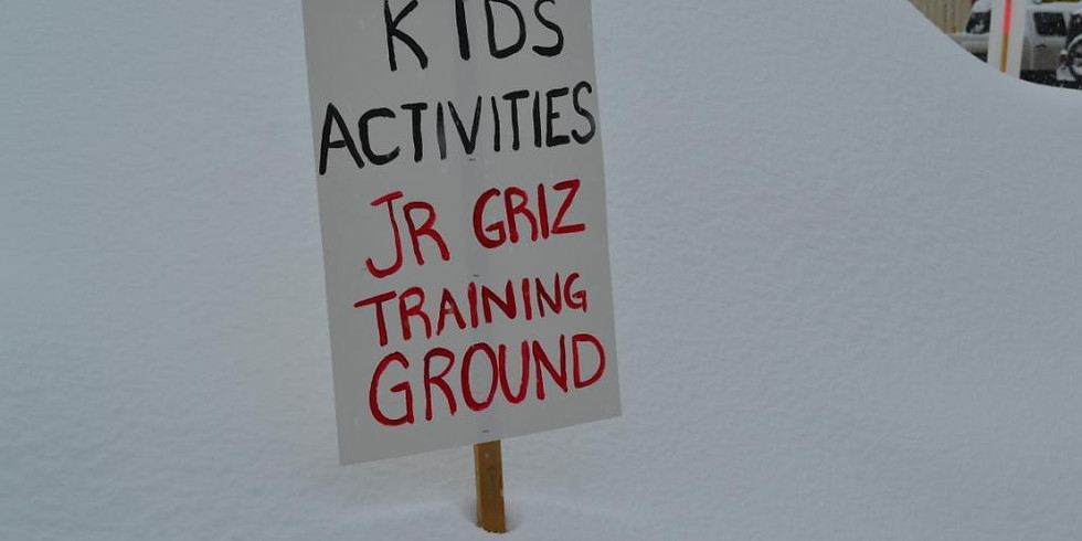 11:00am - Junior Griz Training Ground