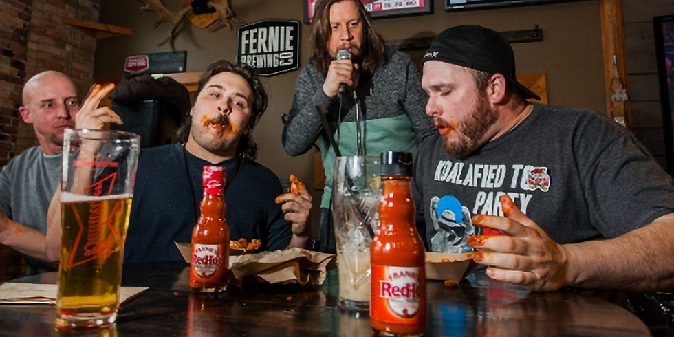 4:00pm - Griz Days - Grizzly Hot Wings Challenge