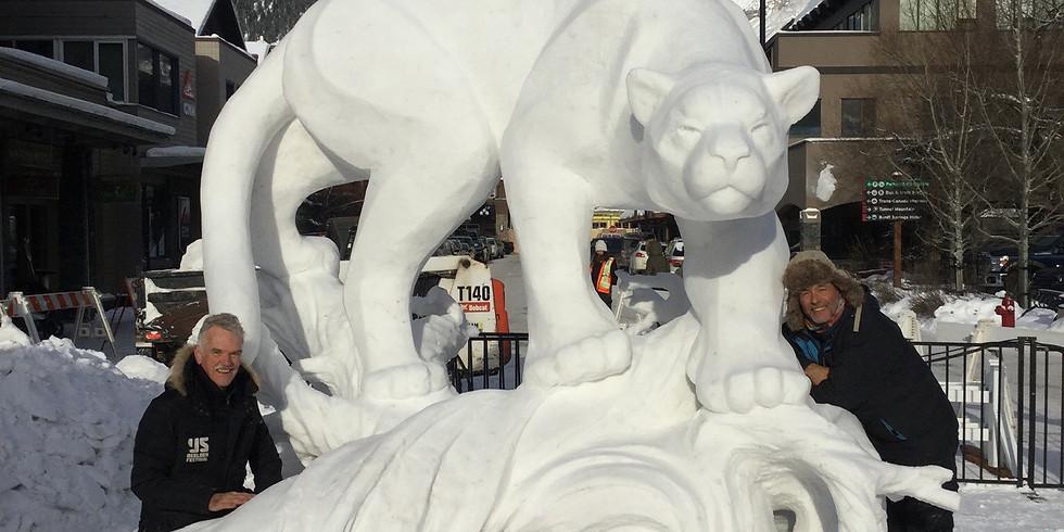 1:00 pm - Griz Days - Snow Sculpture Creation