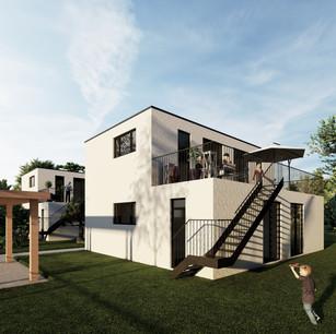 Einfamilienhäuser in Modulbauweise
