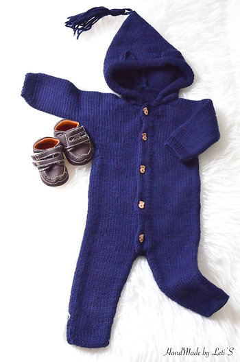 Combinaison Charles taille 3-6M