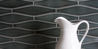 Fireclay Wave Tile used in Farmhouse project