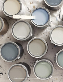 Paints used in London Edwardian project