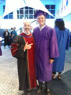 Tampa May 2018 Absolutorium, z dziekanem RBI, Pastorem Todd Holmes