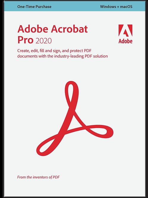 Adobe Acrobat Pro 2020 - Perpetual