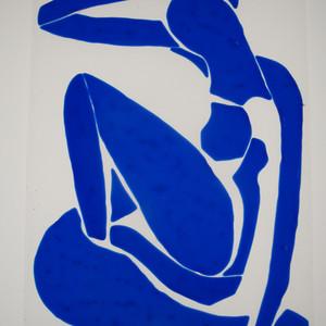 The original Matisse Blue Nude 1