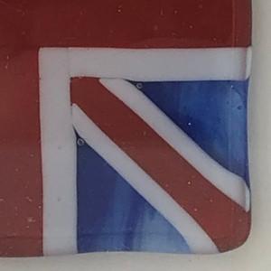 Framed fused flag