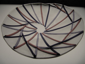 Geometric dish