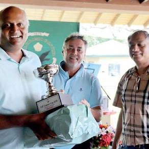 Indrajith Fernando grabs Masters