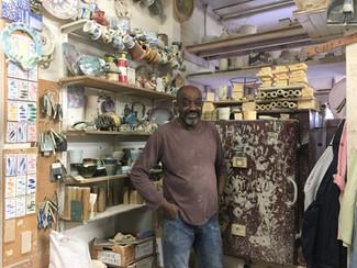 Mohamed with old kiln