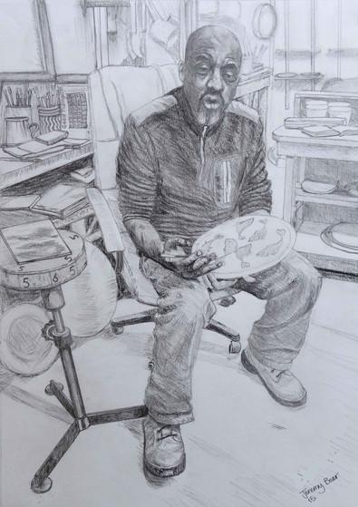 Portrait by Jeremy Bear