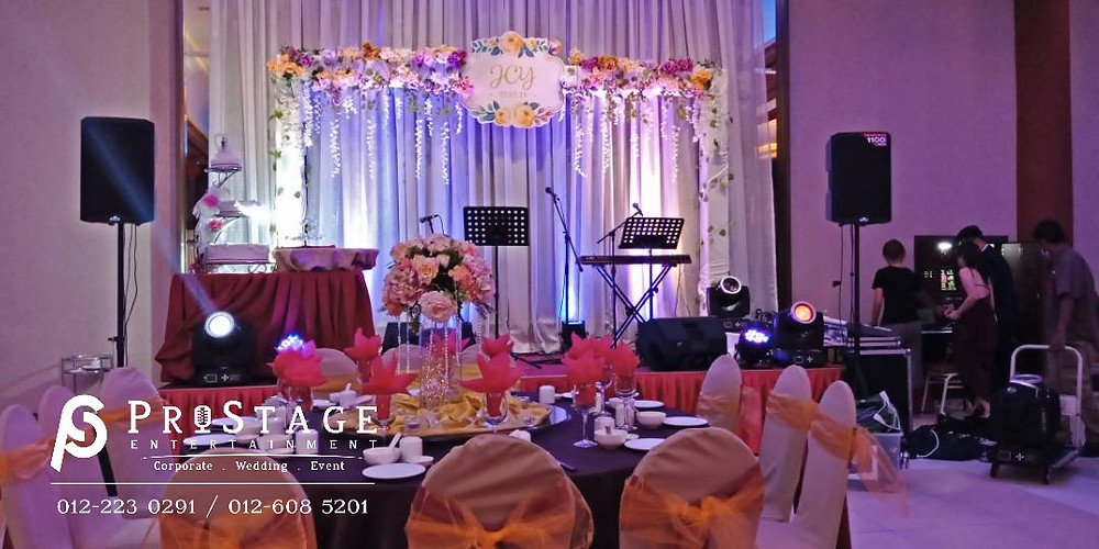 Lighting+Stage Decoration+VIP Table