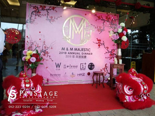 Chinese Theme Photo Booth Installation
