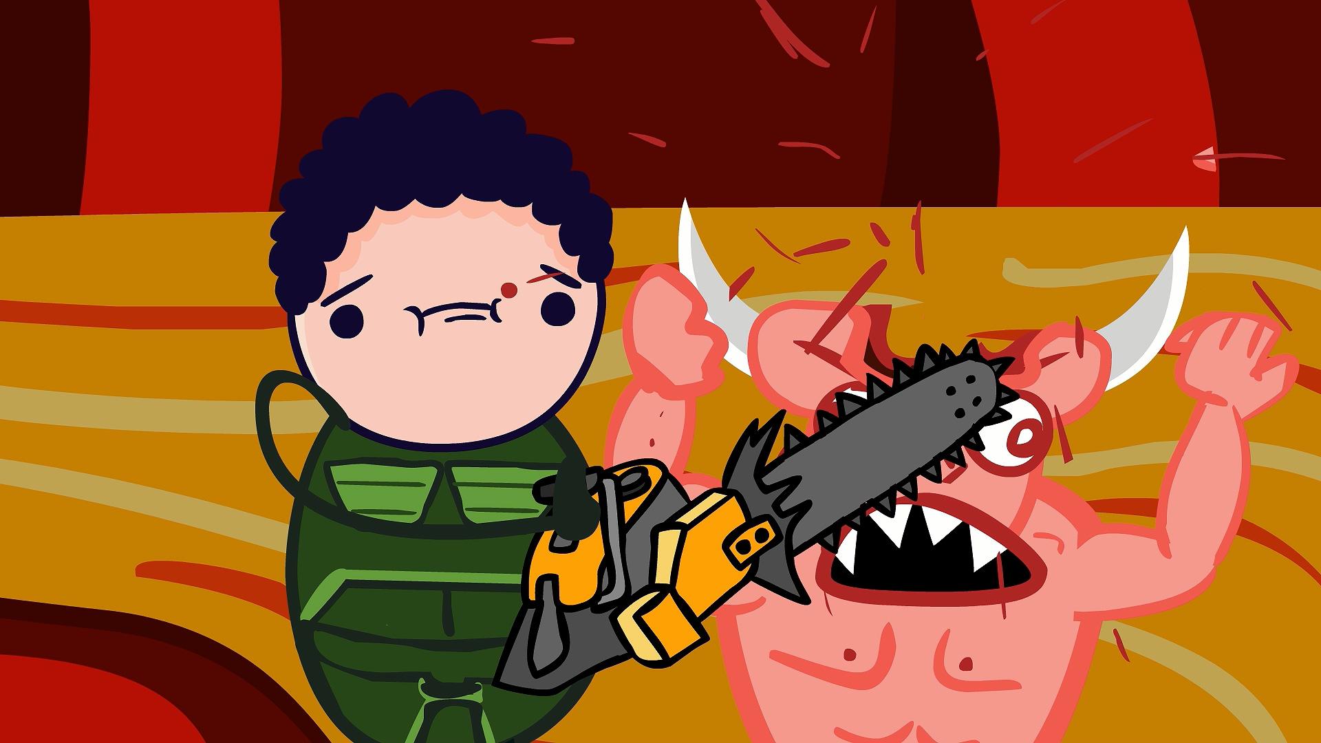 Doom Animation