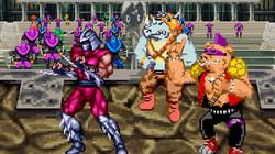Shredder VS Magneto