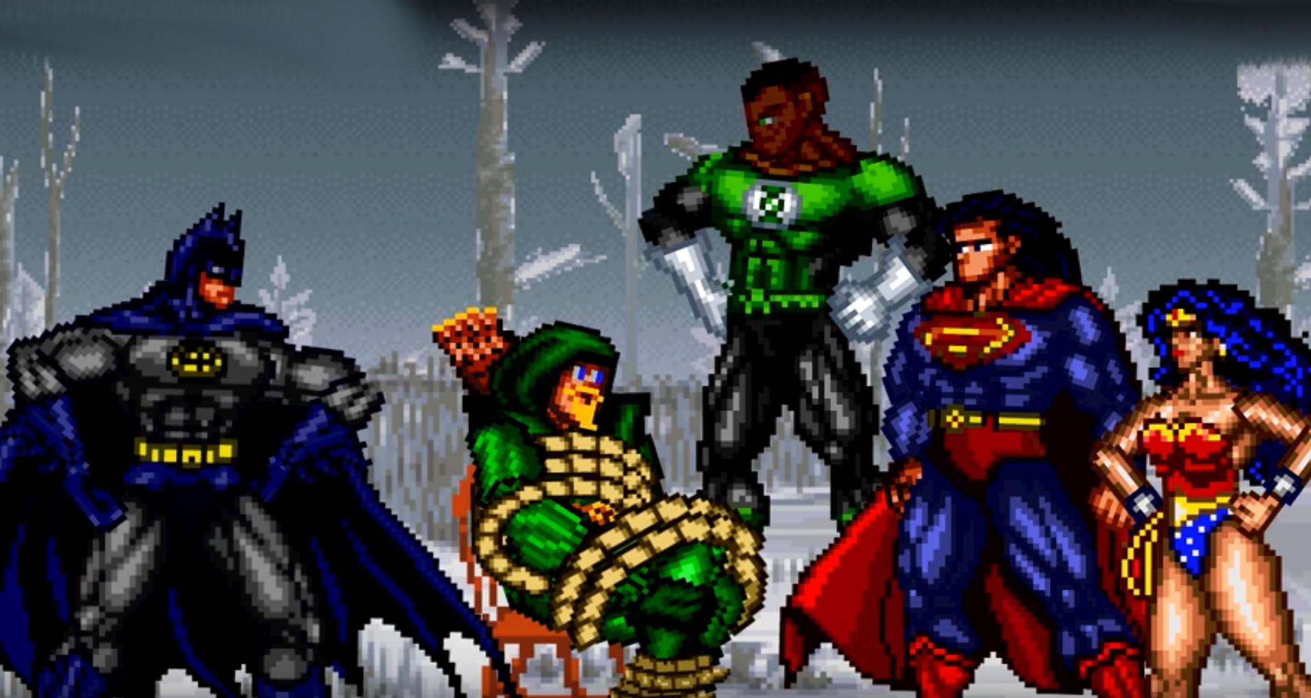 8-Bit Justice League