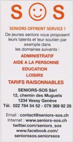 SENIORS-SOS Sàrl - Genève
