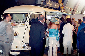 Catering Vehicle at a Wedding