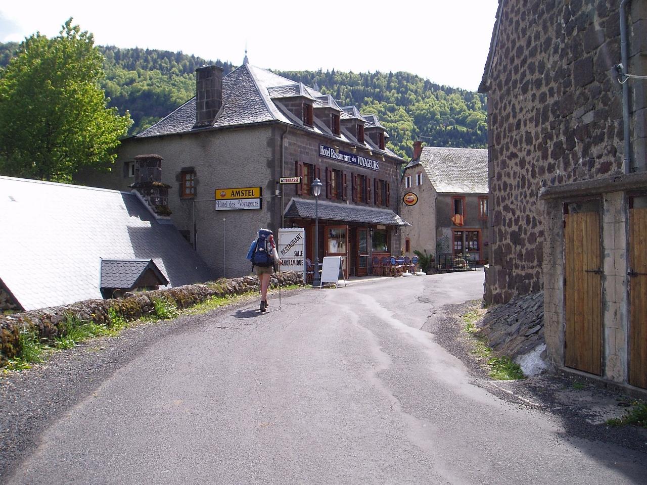 Op weg naar Le Falgoux