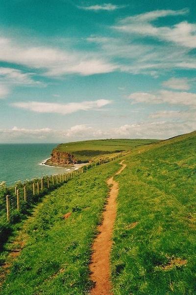 De Ierse Zee bij St. Bees