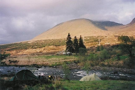 And near the Bridge of Orchy