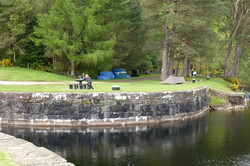 The wee Gairlochy campsite