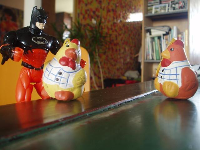 Batman and chicks