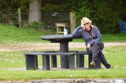 Karin at Gairlochy