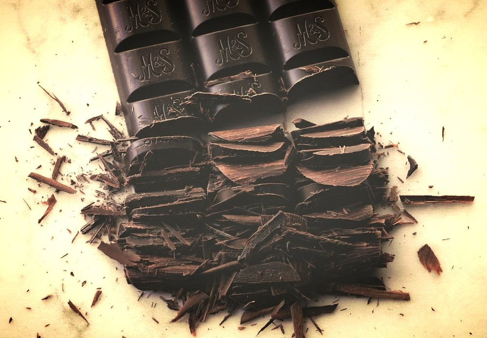 Rib breaking chocolate!