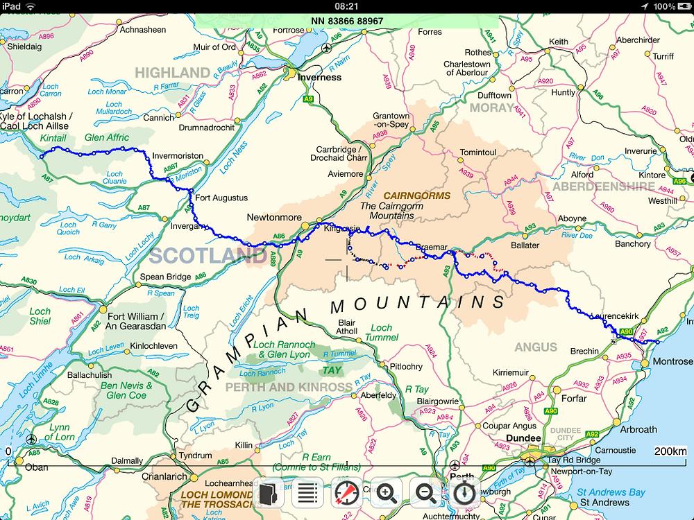Route TGOC 2012