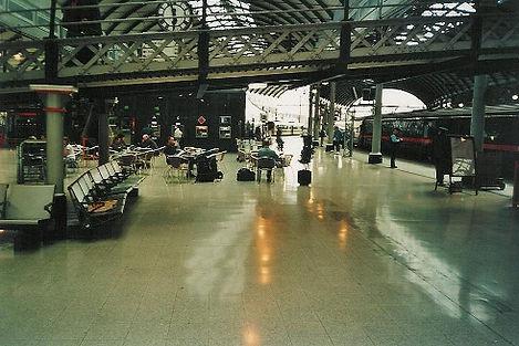 Newcastle trainstation