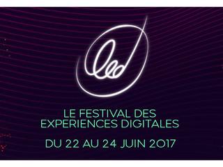 1er FESTIVAL LED BY RUBIKA : l'ESAD participe avec les ARCs ONS et 360°!